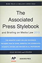 Associated Press Stylebook 2015 and Briefing…