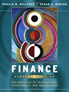 Finance: Introduction to Institutions,…