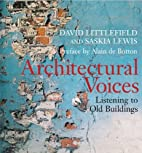 Architectural Voices: Listening to Old…