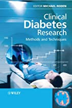 Clinical Diabetes Research: Methods and…