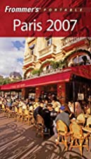 Frommer's Portable Guide: Paris by Darwin…