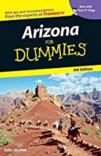 Arizona For Dummies by Edie Jarolim
