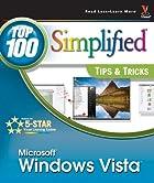 Windows Vista: Top 100 Simplified Tips &…