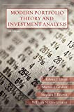 Edwin J. Elton: Modern Portfolio Theory and Investment Analysis