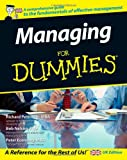 Pettinger, Richard: Managing for Dummies (For Dummies)