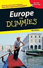 Europe for Dummies by Donald Olson