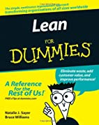 Lean For Dummies by Natalie J. Sayer
