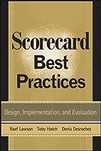 Scorecard Best Practices: Design,…