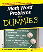 Math Word Problems For Dummies by Mary Jane…