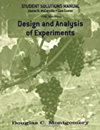 Design and Analysis of Experiments, Student…