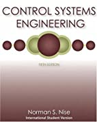 Control Systems Engineering, International…