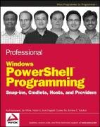 Professional Windows PowerShell Programming:…