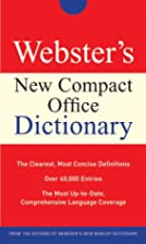Webster's New Compact Office Dictionary…
