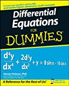 Differential Equations for Dummies by Steven…