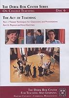 The Act of Teaching by Nancy Houfek