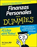 Tyson, Eric: Finanzas Personales Para Dummies (Spanish Edition)