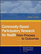 Community-based participatory research for…