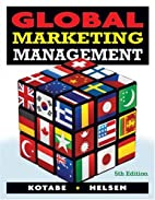 Global Marketing Management by Masaaki…