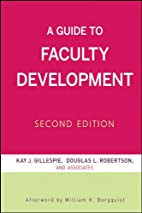 A guide to faculty development by Kay Herr…