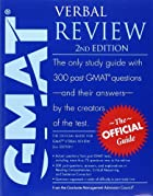 The Official Guide for GMAT Verbal Review by…