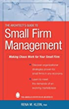 The Architect's Guide to Small Firm…