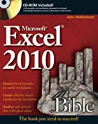 Microsoft Excel 2010 Bible by John…