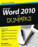 Gookin, Dan: Word 2010 For Dummies