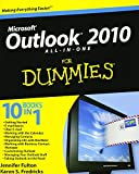 Fulton, Jennifer: Outlook 2010 All-in-One For Dummies