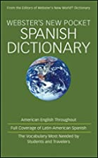 Webster's New Pocket Spanish Dictionary by…