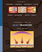 Introduction to Heat Transfer by Theodore L.…