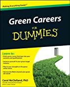 Green Careers For Dummies by Carol L.…