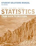 Watkins, Ann E.: Statistics, Student Solutions Manual: From Data to Decision