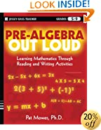 Pre-Algebra Out Loud: Learning Mathematics Through Reading and Writing Activities