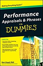 Performance Appraisals and Phrases for…