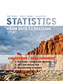 Watkins, Ann E.: Statistics: From Data To Decision