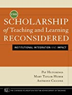 The Scholarship of Teaching and Learning…