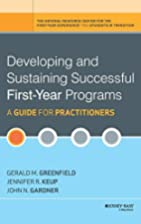 Developing and Sustaining Successful…