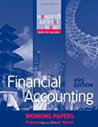 Financial Accounting, Working Papers by…