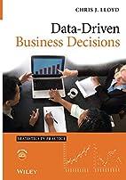 Data Driven Business Decisions (Statistics…