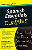 Stein, Gail: Spanish Essentials For Dummies