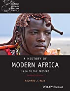 A History of Modern Africa: 1800 to the…