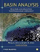 Basin Analysis: Principles and Applications…