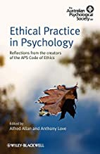 Ethical Practice in Psychology: Reflections…