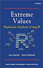 Extreme Values: Statistical Analysis Using R…