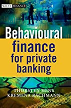 Behavioural finance for private banking by…