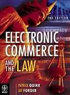 Electronic commerce and the law by Patrick…