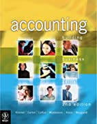 Accounting: Building Business Skills by Paul…