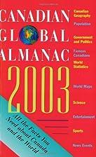 Canadian Global Almanac 2003 by Susan Girvan