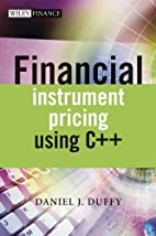 Financial Instrument Pricing Using C++ by…