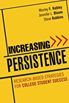 Increasing Persistence: Research-based…